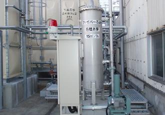 廃水処理設備(活性汚泥処理)