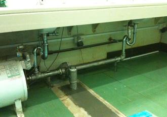 工場内土間廃水更新工事