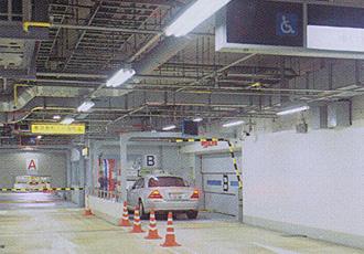 駐車場スプリンクラー設置工事